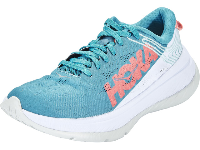 Hoka One One Carbon X Running Shoes Women, caribbean sea/white